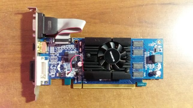 Видеокарта Gygabite GV-N210D3-1GI - NVIDIA Ge-Force 210 1GB 64BT DDR