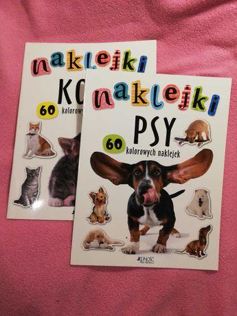 Książki z naklejkami dla dzieci