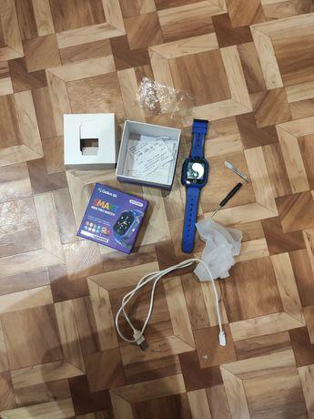 Детские смарт часы  Gelius Pro GP-PK002 Blue GPS 4G