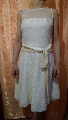 Платье Sinequanone нежного молочного цвета