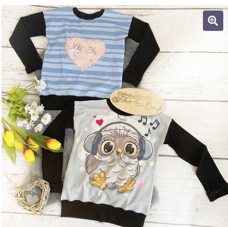 Bluza dla dziewczynki - rozmiar 134