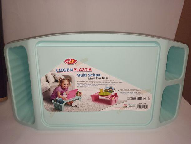 Стол детский с карманами для игрушек канцелярии перекуса