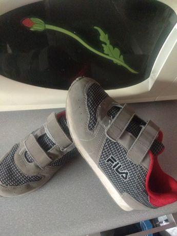 Buty chłopięce FILA-34.Stan bdb