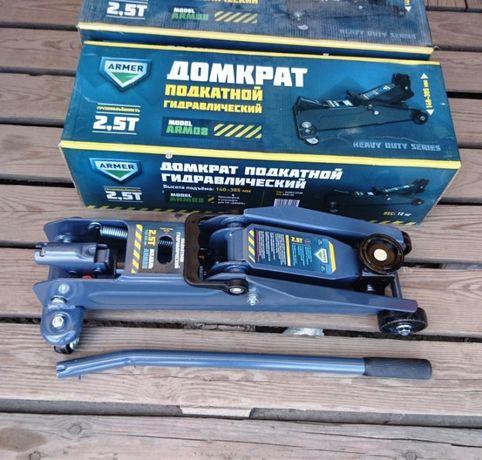 Домкрат подкатной гидравлический ARMER ARM-08 - 2,5 тонны