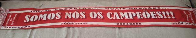 Cachecol Benfica Campeão 2004/2005 [Raro]