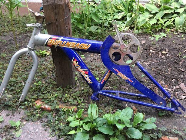 Рама на подростковый велосипед 200грн