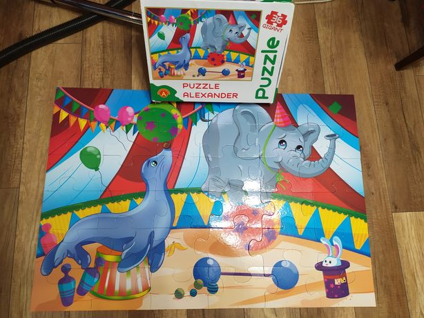 puzle alexander 36 elementów super dla dzieci wysyłka