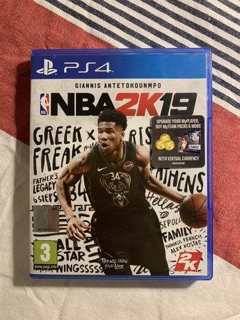 NBA 2019 PS4 Playstation 2K19