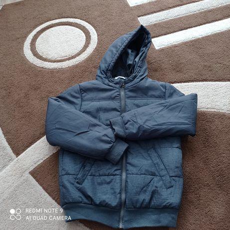 Kurtka zimowa chłopięca 140 cm