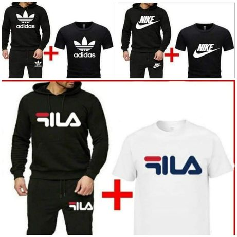Komplet męski z logo Adidas Nike Puma 3 części - kolory M-XXL!!!