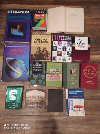 Wyprzedaż książek 15 sztuk