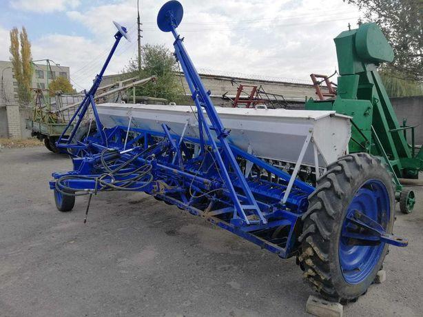 Сеялка зерновая СЗ-5,4 для трактора разбрасыватель борона культиватор