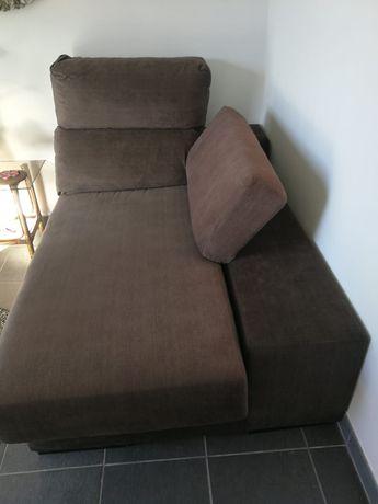 Sofá + chaise longue