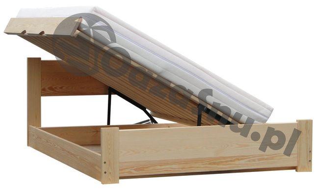 ATENA 160x200 łóżko otwierane z boku z pojemnikiem dowolny wymiar