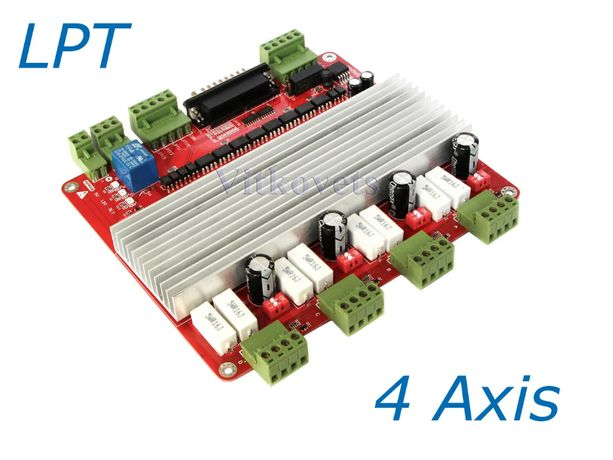Контролер чпу на 4 осі 3.5 А TD6560-4V3