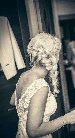Suknia ślubna Model Isabel Domino