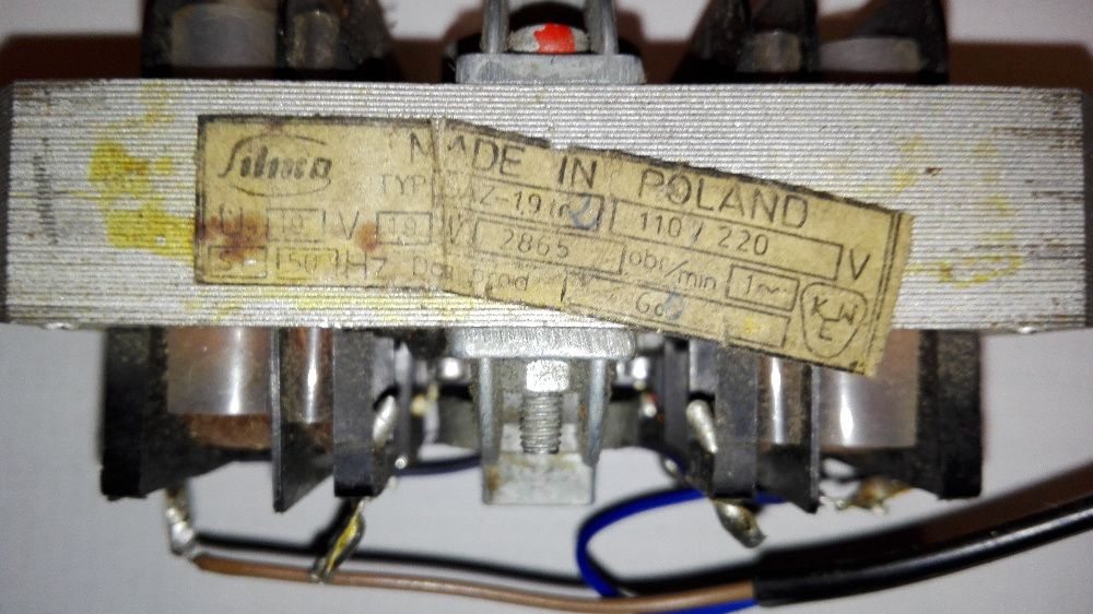 silnik do magnetofonu szpulowego SAZ-1,9tr2 stan bdb sprawny Wałbrzych - image 1