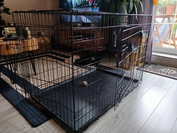 Klatka, transporter metalowa XXL dla psa