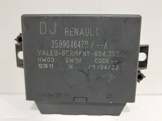 259904647R  Módulo eletrónico RENAULT GRAND SCÉNIC III (JZ0/1_) 1.9 dCi