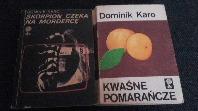 Dominik Karo-2 książki
