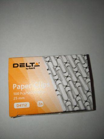 Скрепки Delta 25 мм./100 шт.