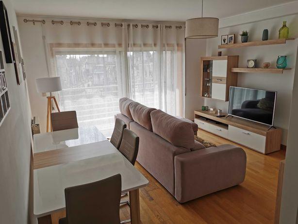 Sala completa (móvel TV + aparador + mesa de jantar + sofá)