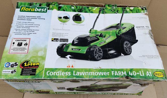 НОВ аккумуляторна газонокосилка сГерман Florabest 40V/косилка/Parkside