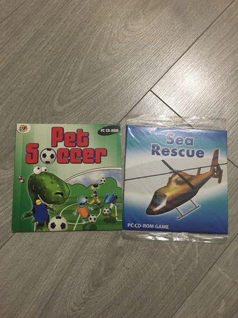 Gry PC CD-ROM Nestle Pet Soccer, Sea Rescue