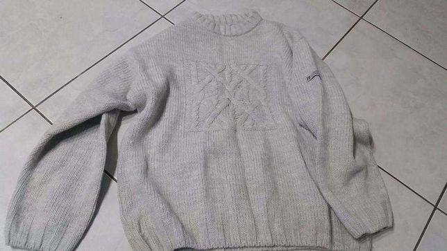 męski sweter, wełniana bluza