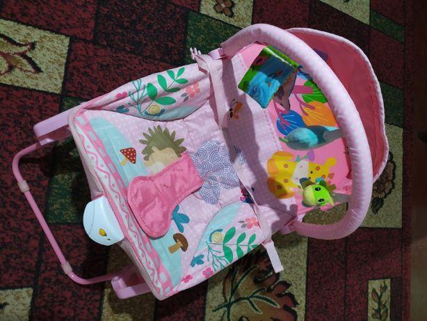 Крісло-гойдалка для малюків
