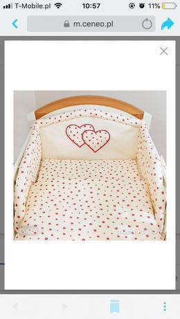 Pościel do łóżeczka Mamo-Tato 60x120, 3 elementy+wypelnienie