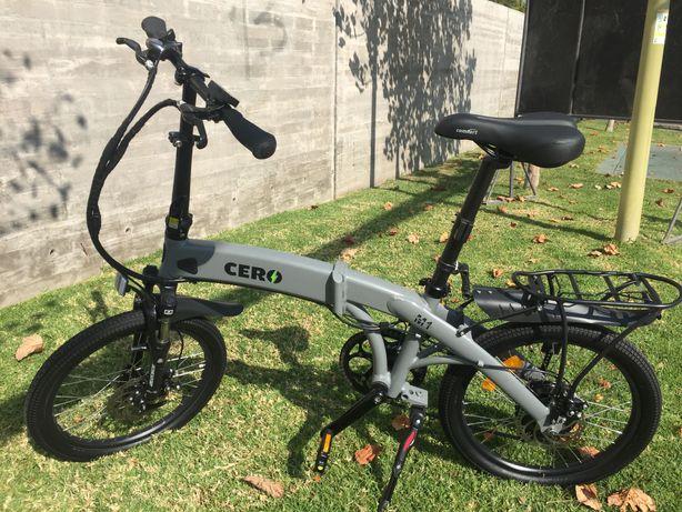Bicicleta Elétrica Cero dobrável