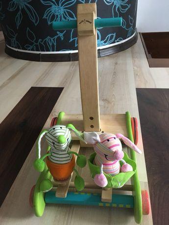 Chodzik drewniany ekologiczny - skaczące króliki