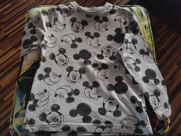 Bluzeczka z długim rękawem Mickey Stan Idealny rozmiar 116