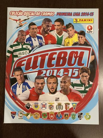 Caderneta Panini Futebol 2014-15