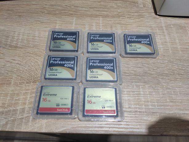 Karty Pamięci Compakt Flash 16GB