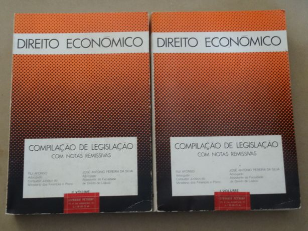 Direito Económico de Rui Afonso - 2 Volumes