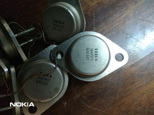 Стабилизатор МА7812 Тесла 12в-3 ампера ( защита от кз )