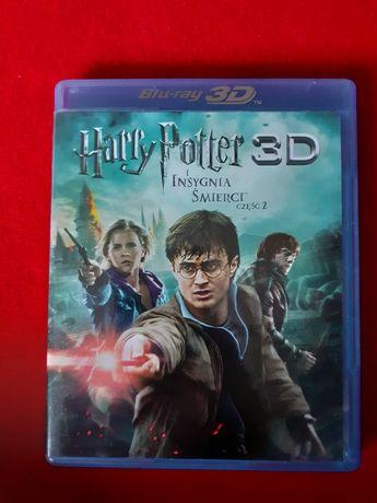 Harry Potter i insygnia śmierci cz.2 3D film blu-ray