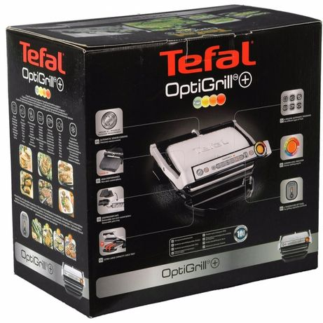 Гриль TEFAL OptiGrill+ GC712D34 в наявності