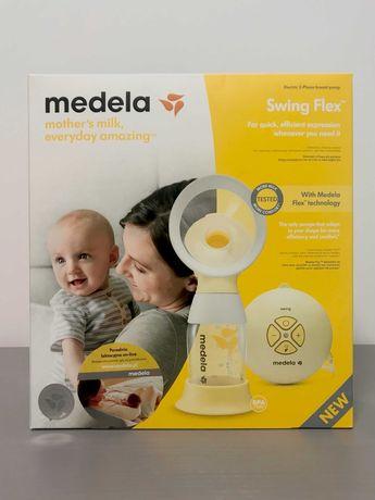 Laktator Medela Swing Flex, nowy, nie używany, na gwarancji