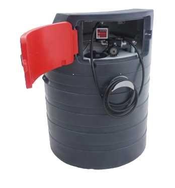 Zbiornik dwupłaszczowy na paliwo paliwa 1500L MD