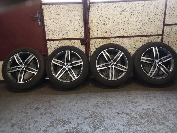 Komplet kół letnich 5x112 BMW 205/55/17 Dunlop 7,5mm