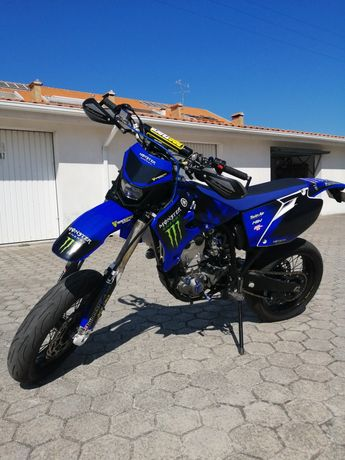 Yamaha yz 450F supermotard