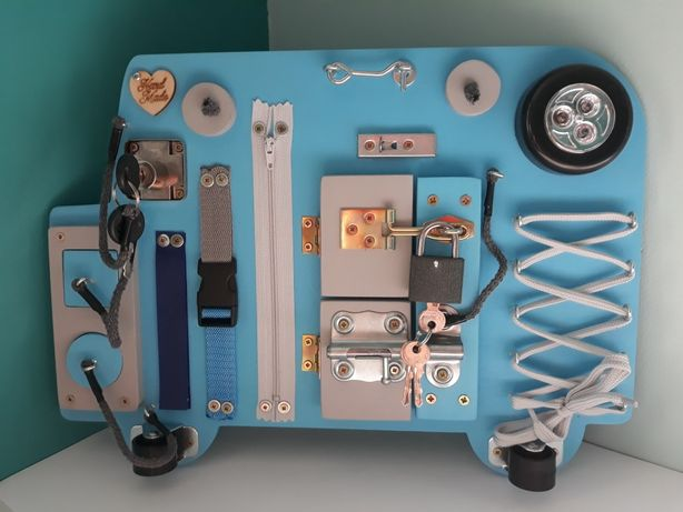Nowa tablica manipulacyjna/sensoryczna/Montessori/drewniana zabawka