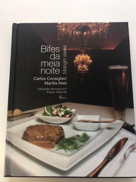 Livro de Receitas - Bifes da Meia Noite - Português e Inglês