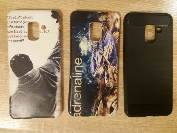 Etui i szkło full glue do Samsung Galaxy A8 2018