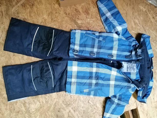 Komplet kurtka zimowa i spodnie 86-92