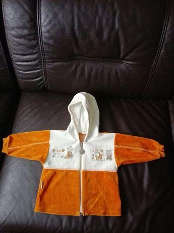 Bluza dziecięca z kapturem roz. 74