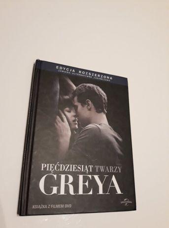 50 Twarzy Greya Pięćdziesiąt Twarzy Greya film DVD Edycja rozszerzona